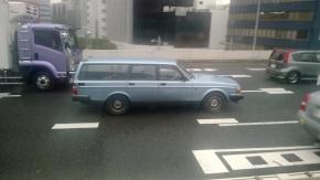 Siapa bilang di Jepang tidak boleh mobil ada mobil tua(classic)