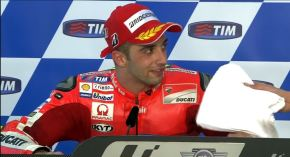 Profesionalisme Pembalap Dibalik Post Race Press Conference MotoGp 2015